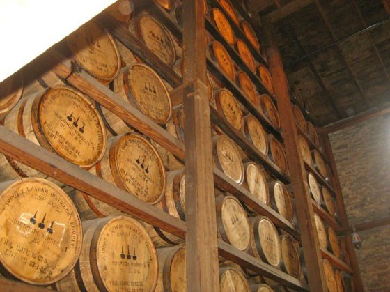 Barrels of Bourbon!