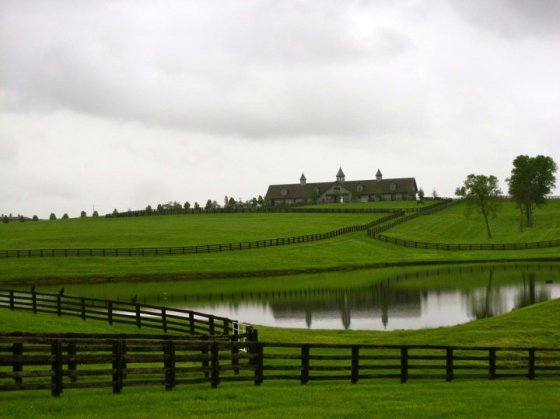 The beautiful countryside of Kentucky