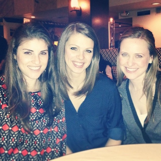 The girls at Terra Bistro