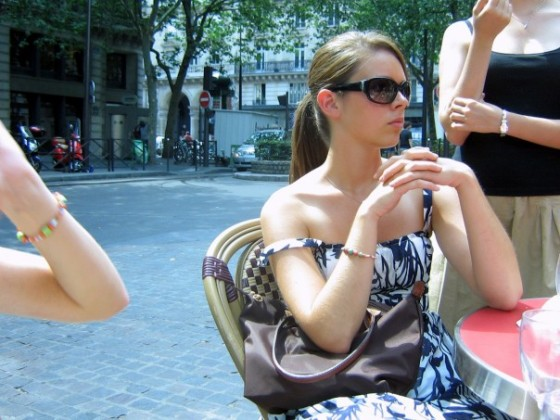 I thought I was so cool in high school (summer 2006 in Paris)