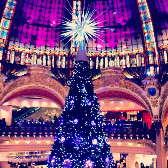 Galleries Lafayette at Christmas (2012)
