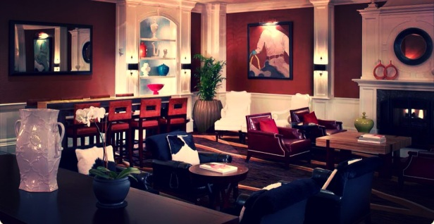 The lobby at Hotel Monaco (photo courtesy of monaco-denver.com)