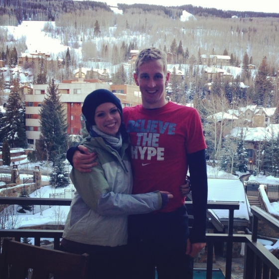 View from the Four Seasons Vail lobby balcony