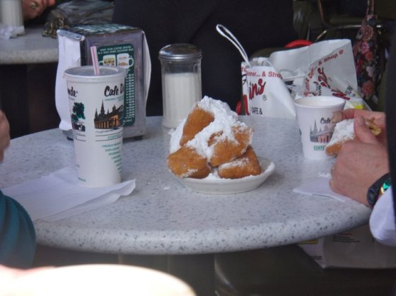 The magnificent beignets