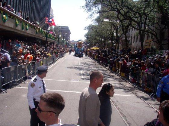 The parades