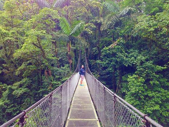 J on the hanging bridges