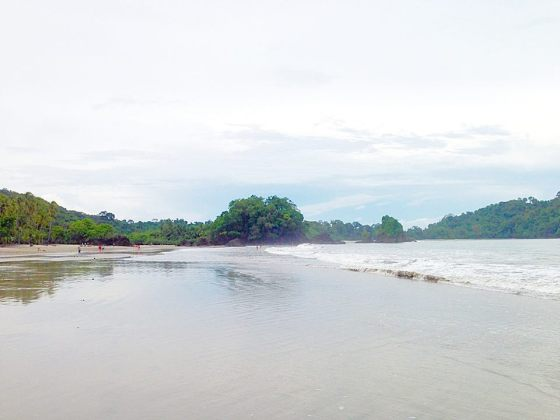Beautiful beach in Manuel Antonio, Costa Rica
