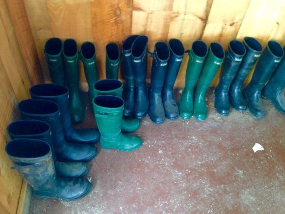 Need some wellies?